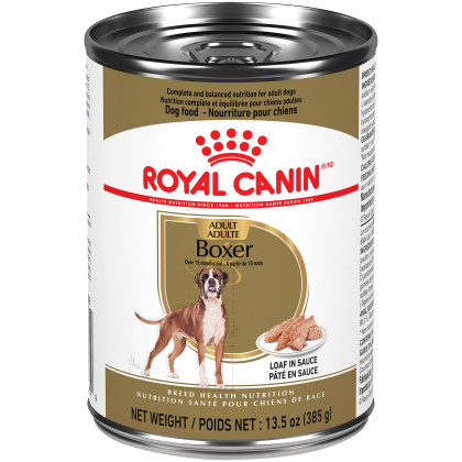Royal Canin Breed Health Nutrition Boxer Loaf In Sauce Dog Food