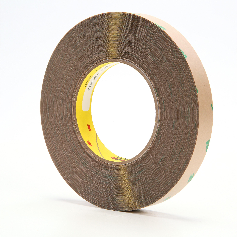 3M™ Adhesive Transfer Tape F9465PC Clear, 3/4 in x 60 yd, 5 mil, 48 rolls per case