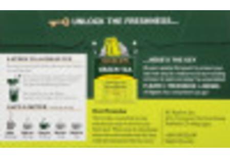 Front of Green Tea with Lemon tea box