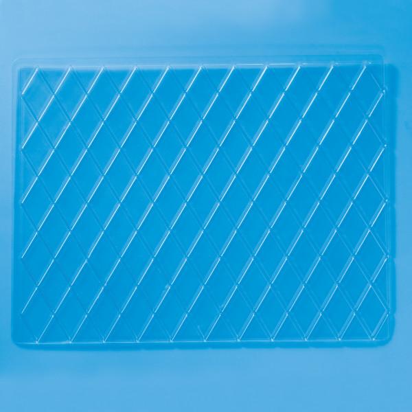 Diamond & Square Impression Mats, 4-Piece Set Cutters/Molds