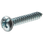 Zinc Pan Head Combination Drive Sheet Metal Screws