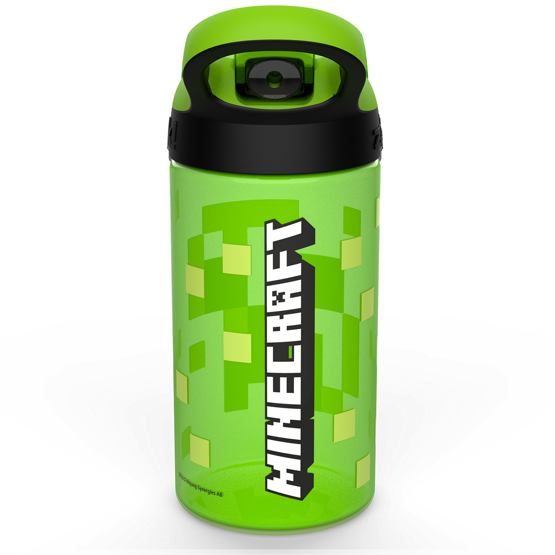 Minecraft 16 ounce Water Bottle, Creeper & Pig, 2-piece set slideshow image 5