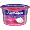 Knudsen Cottage Cheese Doubles Raspberry Topping 4.7 oz Cup