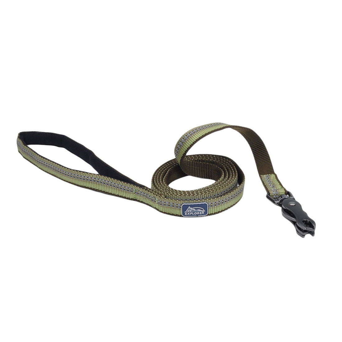 K9 Explorer® Reflective Dog Leash with Scissor Snap