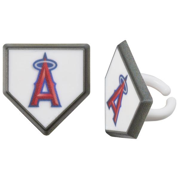 MLB® Home Plate Team Logo Cupcake Rings