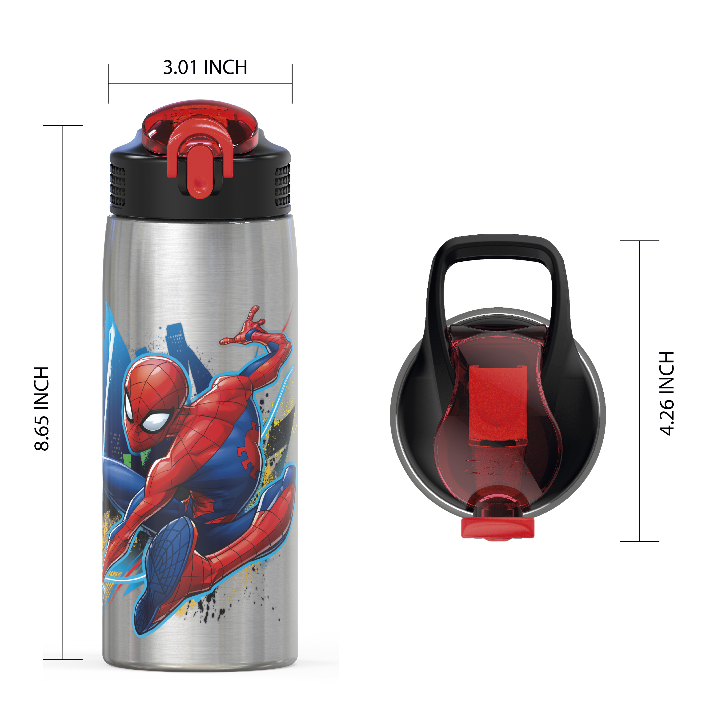 Marvel Comics 27 ounce Water Bottle, Spider-Man slideshow image 6