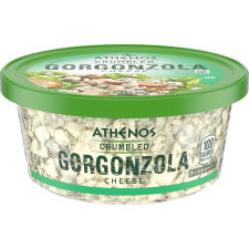 Athenos Crumbled Gorgonzola Cheese 4.5 oz Tub