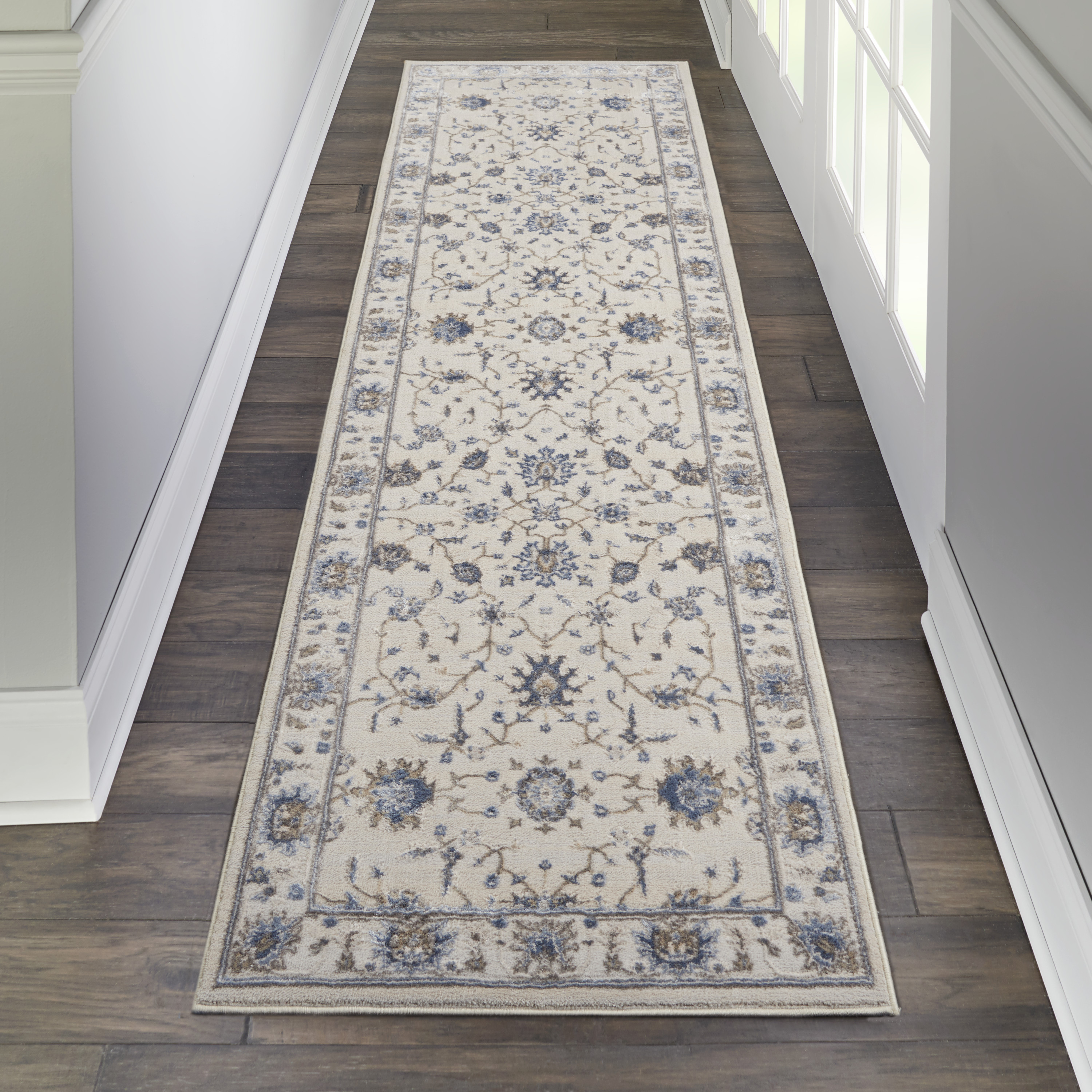 Nourison Silky Textures SLY09 Ivory Rug