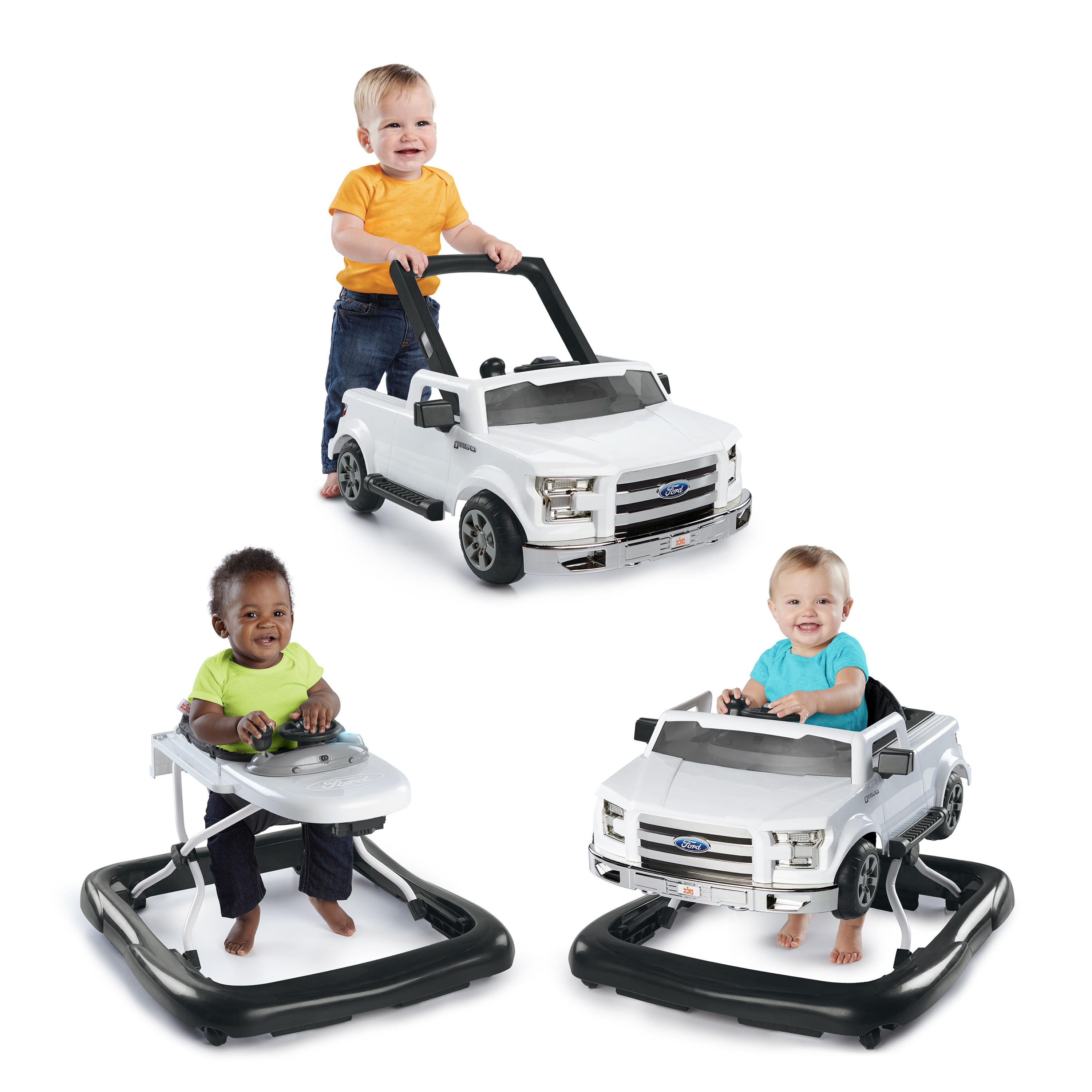 3 Ways to Play Walker™ - Ford F-150, White