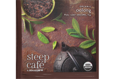 steep Café Organic Oolong - Box of 50 pyramid tea bags