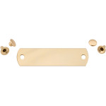Polished Brass Small Rivet Quick-Tag