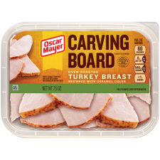Oscar Mayer Carving Board Oven Roasted Turkey Breast 7.5 oz Tray