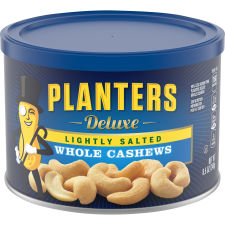 Planters Deluxe Lightly Salted Whole Cashews 8.5 oz Canister