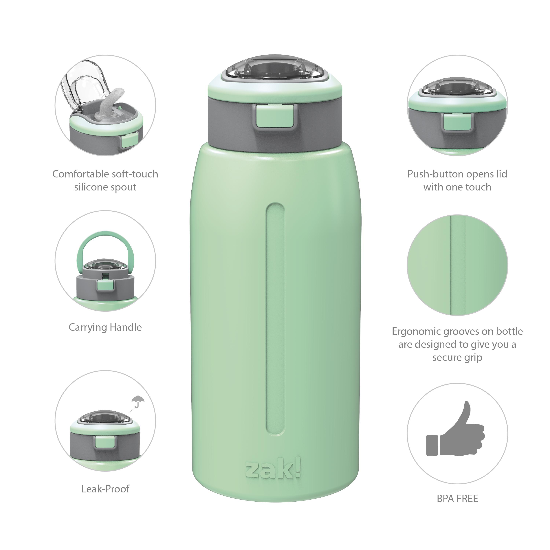 Genesis 32 ounce Stainless Steel Water Bottles, Neo Mint slideshow image 8