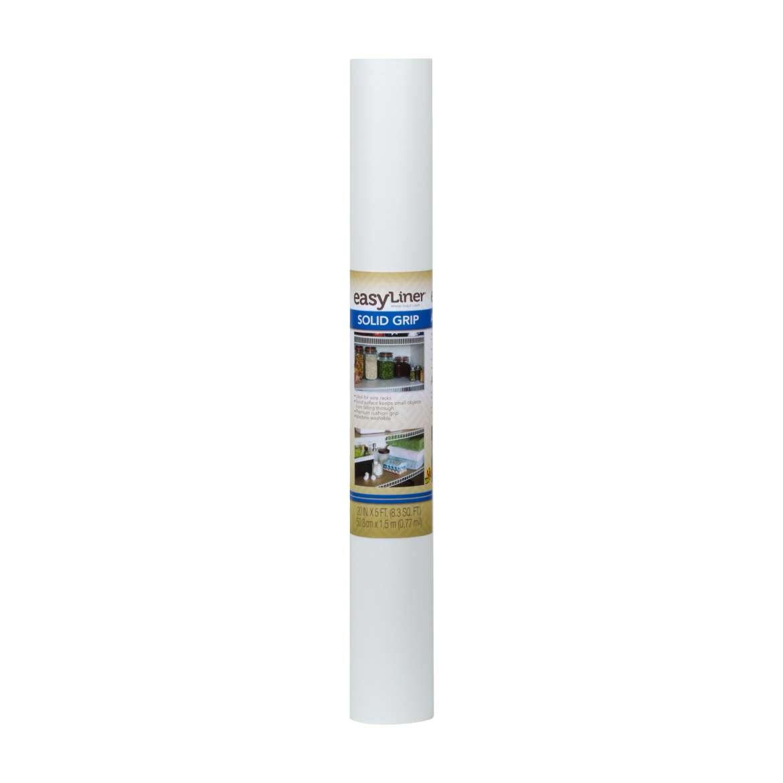 Solid Grip Easy Liner® Brand Shelf Liner - White, 20 in. x 5 ft. Image