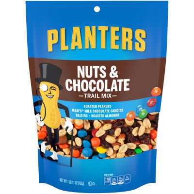 Planters Nuts & Chocolate Trail Mix 27 oz Bag