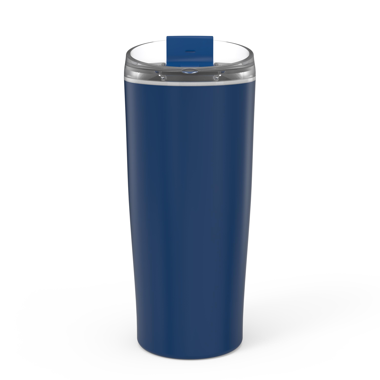 Aberdeen 20 ounce Vacuum Insulated Stainless Steel Tumbler, Indigo slideshow image 6