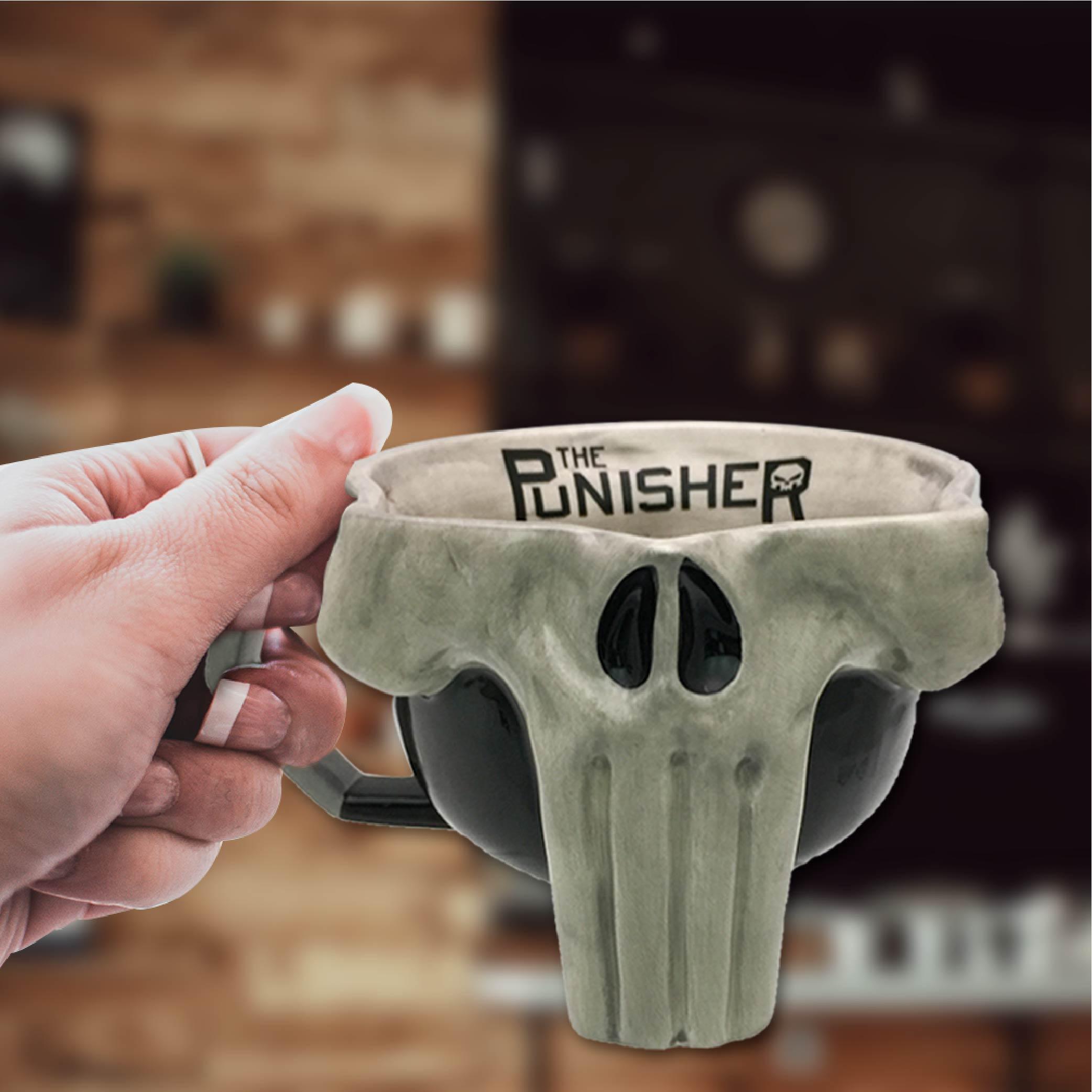 Marvel Comics 17 ounce Coffee Mug, The Punisher slideshow image 2