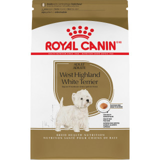 WEST HIGHLAND WHITE TERRIER ADULTE – nourriture sèche pour chiens