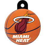 Miami Heat Large Circle Quick-Tag