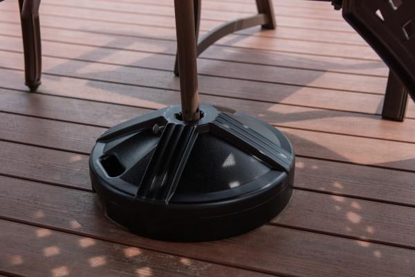 50 lb Umbrella Base - Black 7