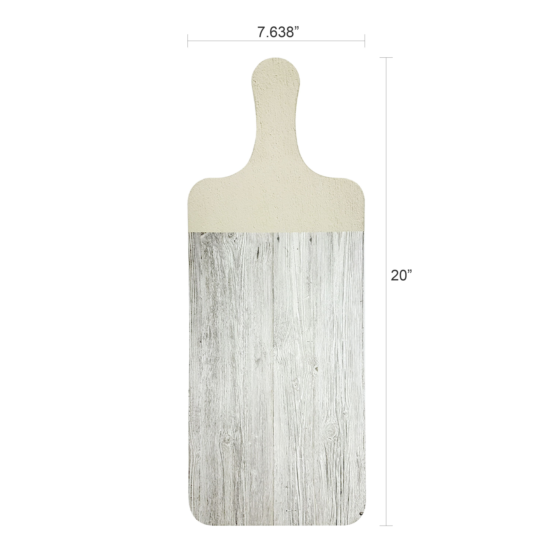 Island Drift Cheeseboard and Platter, Gray, 2-piece set slideshow image 4