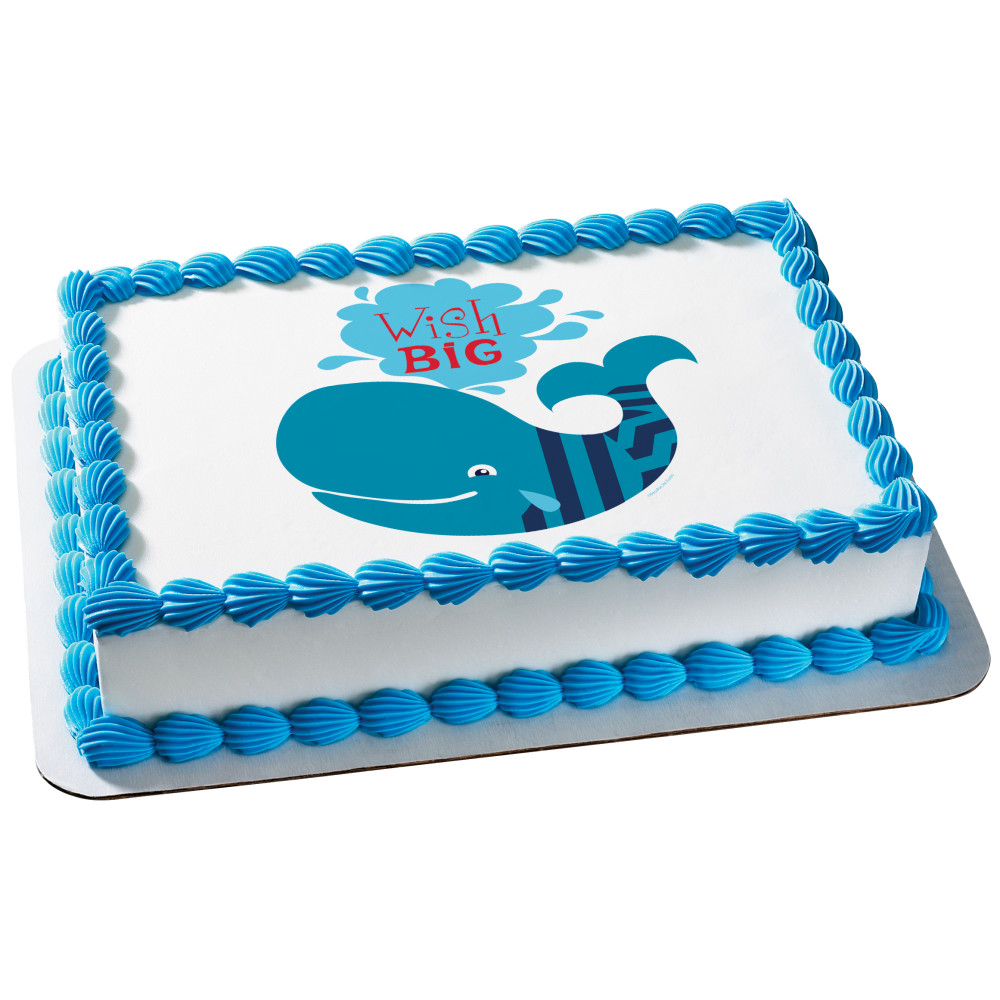 Birthday Buddies Whale