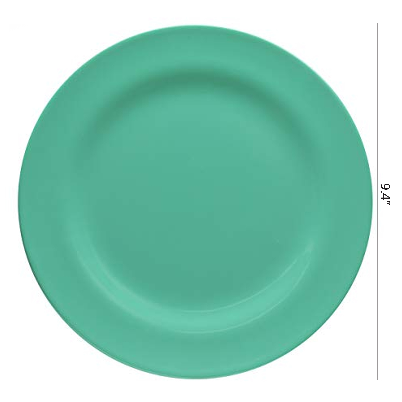 Ella Salad Plate, Seaglass, 6-piece set slideshow image 4