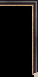 Hudson II Black and Gold 7/8