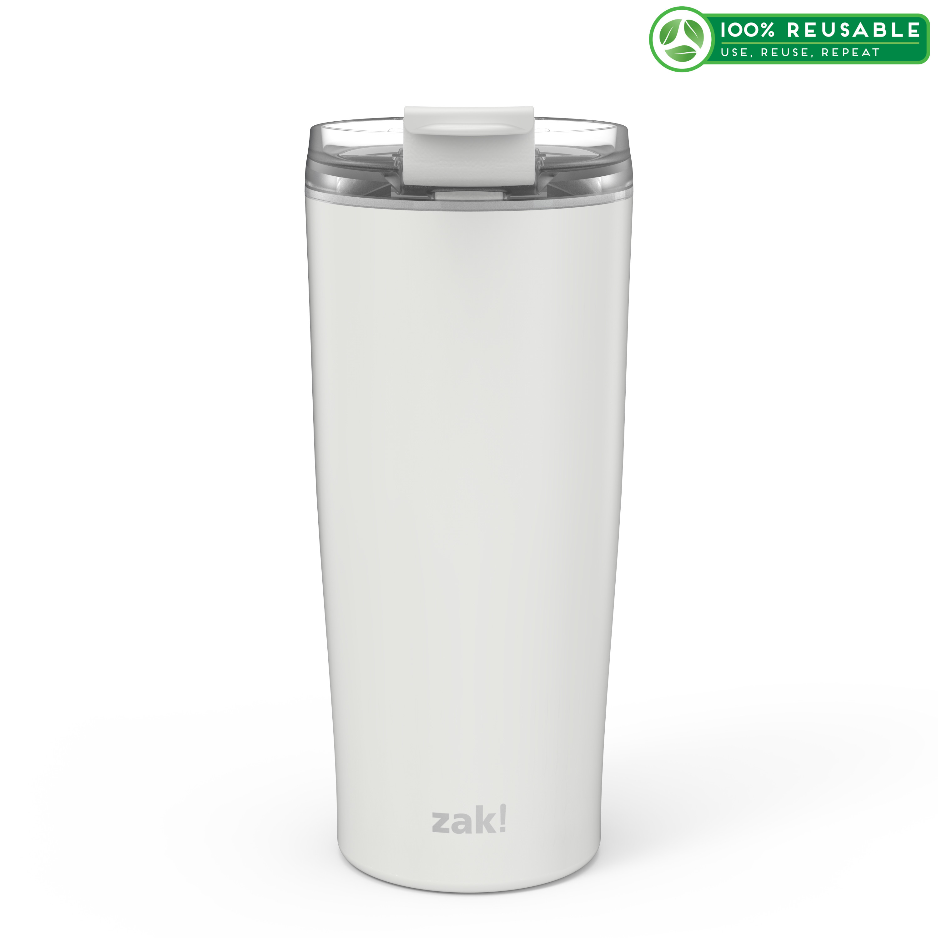 Aberdeen 20 ounce Vacuum Insulated Stainless Steel Tumbler, Gray slideshow image 1