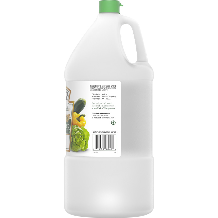 Heinz Distilled White Vinegar, 1.32 gal Jug