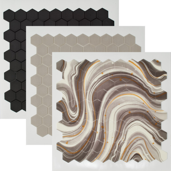 Black Marble Fondant DecoShapes®