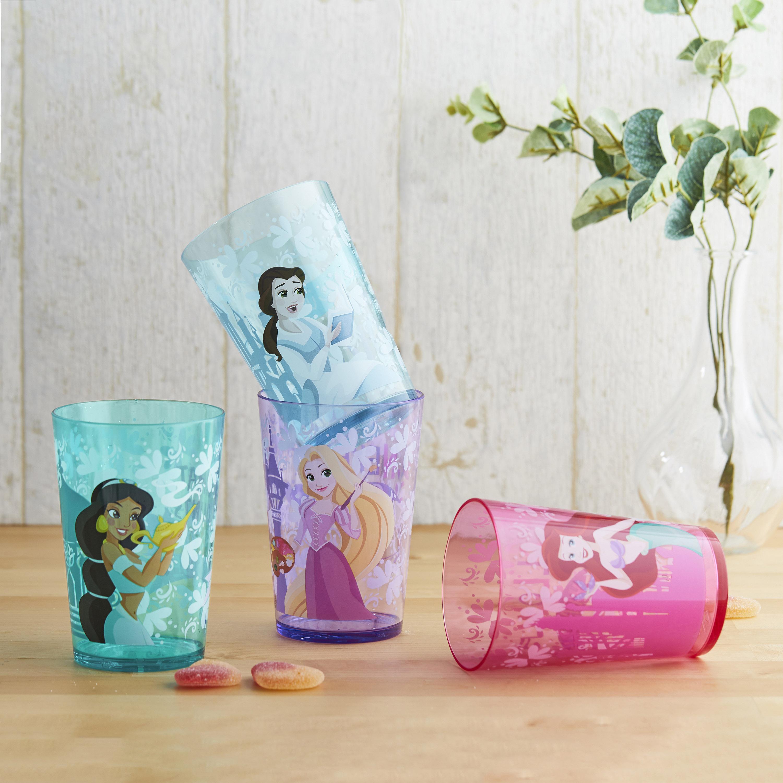 Disney Princess Tumbler, Princess Ariel and Friends, 4-piece set slideshow image 4