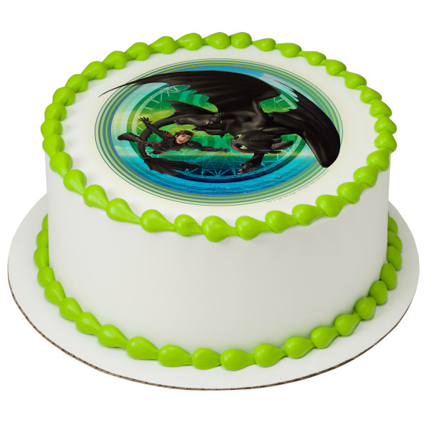 How To Train Your Dragon: The Hidden World Gotta Keep Flying PhotoCake® Edible Image®