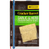 Cracker Barrel Natural Garlic & Herb Cheese Slices 6 oz Wrapper