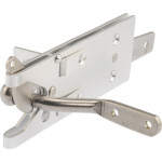 Hardware Essentials Post Mount Gate Latch - Vinyl Gates