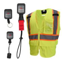 Radians Type R Class 2 Multipurpose Surveyor Safety Tether Vest