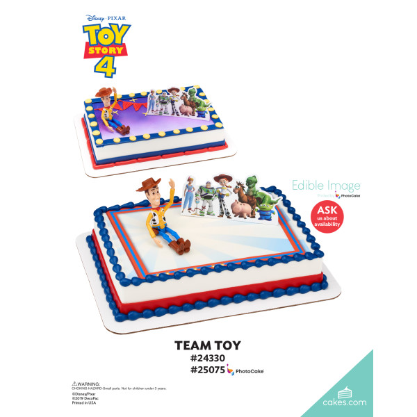 Disney/Pixar Toy Story 4 Team Toy DecoSet® The Magic of Cakes® Page