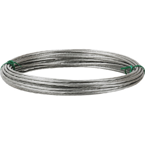 Hillman Fiber Core Plastic Coated Wire #3 50ft