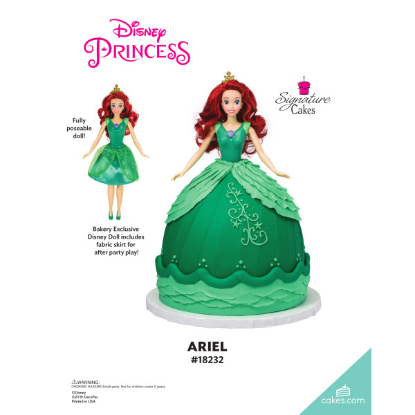Disney Princess Ariel Doll Signature DecoSet® The Magic of Cakes® Page