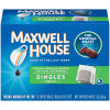 Maxwell House Singles Decaf Coffee Bags, 19 count