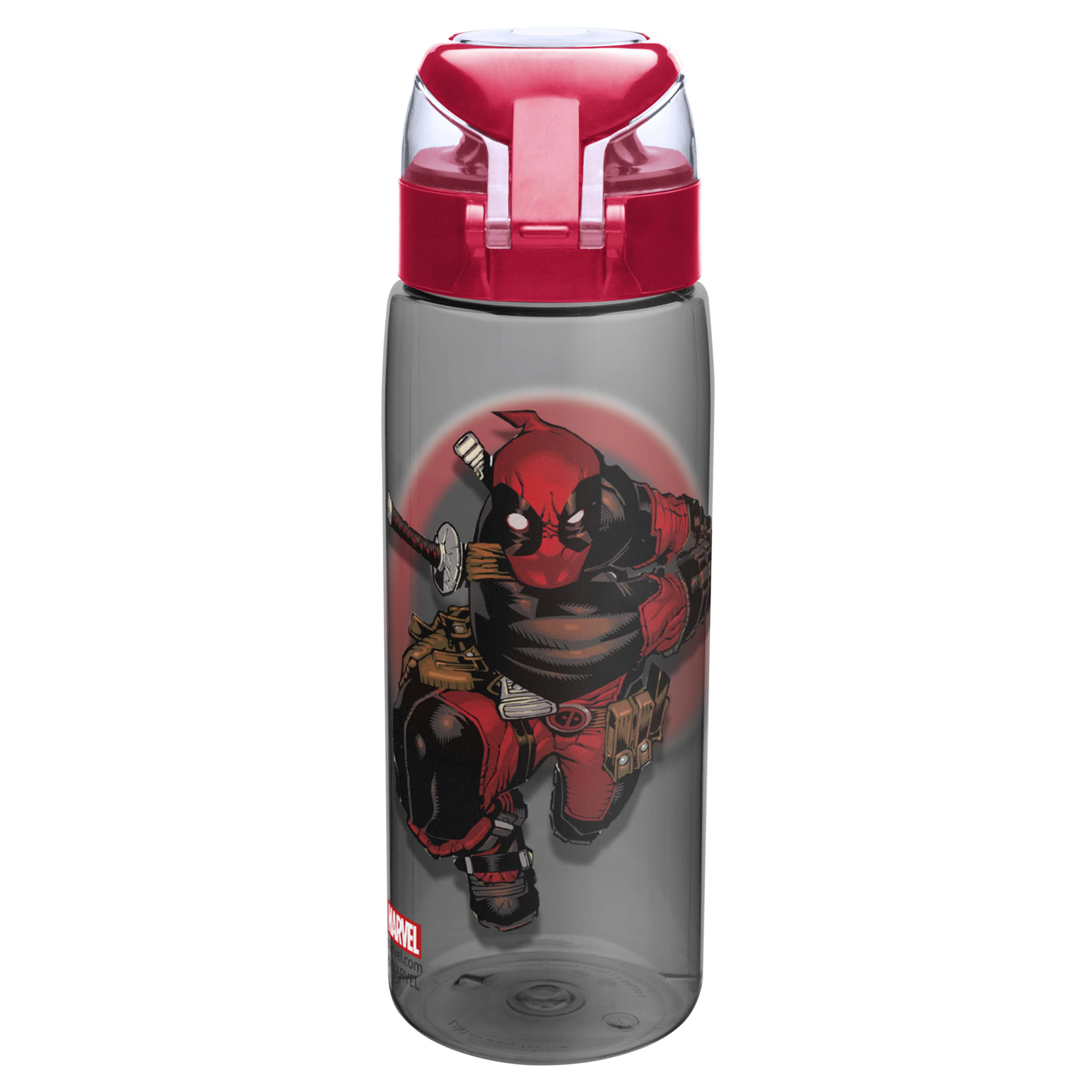 Marvel Comics 25 ounce Water Bottle, Deadpool slideshow image 4