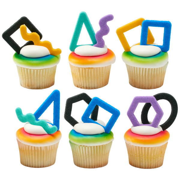 Good Vibes Shapes SugarStyle™  Edible Decorations