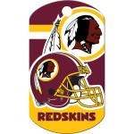 Washington Redskins Large Military ID Quick-Tag