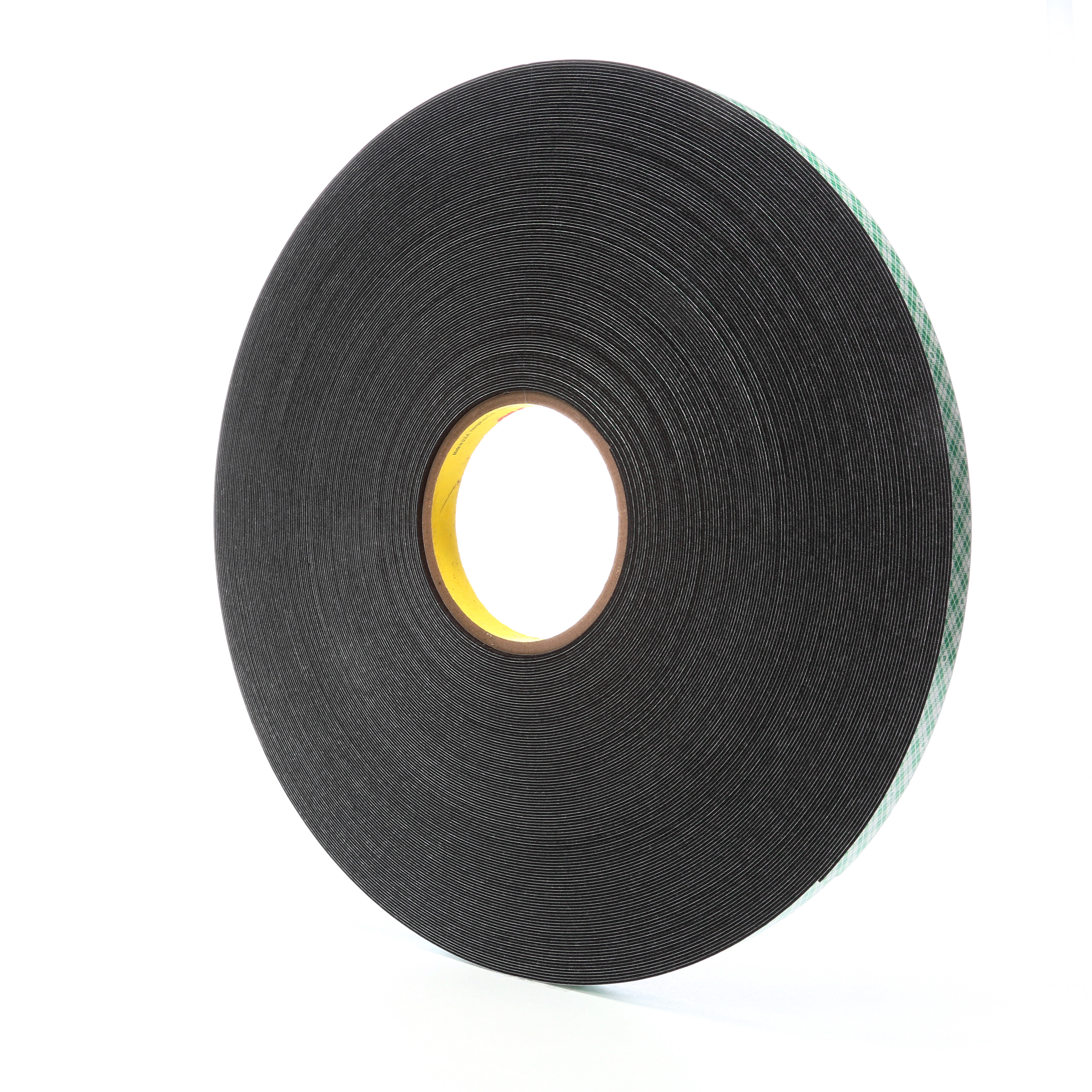 3M™ Double Coated Urethane Foam Tape 4052, Black, 31 mil, Roll, Config