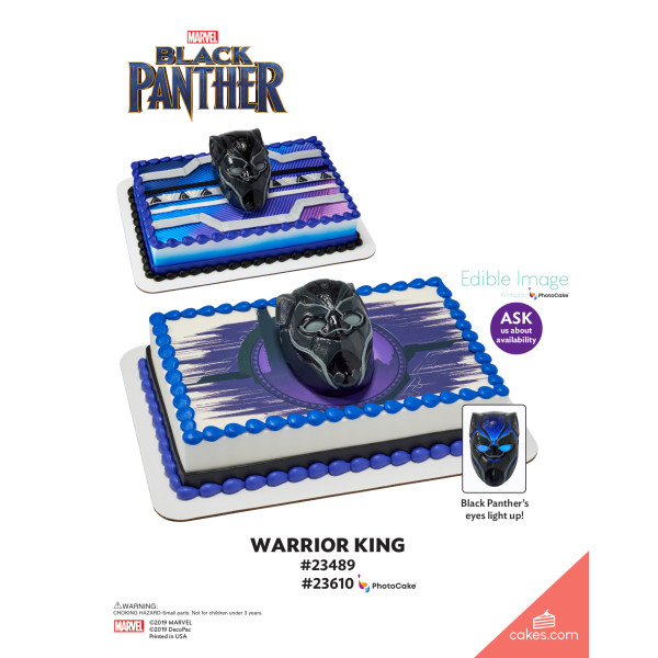 MARVEL Black Panther Warrior King DecoSet® The Magic of Cakes® Page