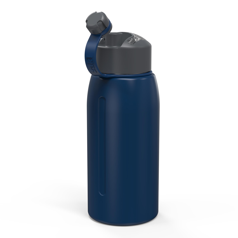 Genesis 32 ounce Vacuum Insulated Stainless Steel Tumbler, Indigo slideshow image 7