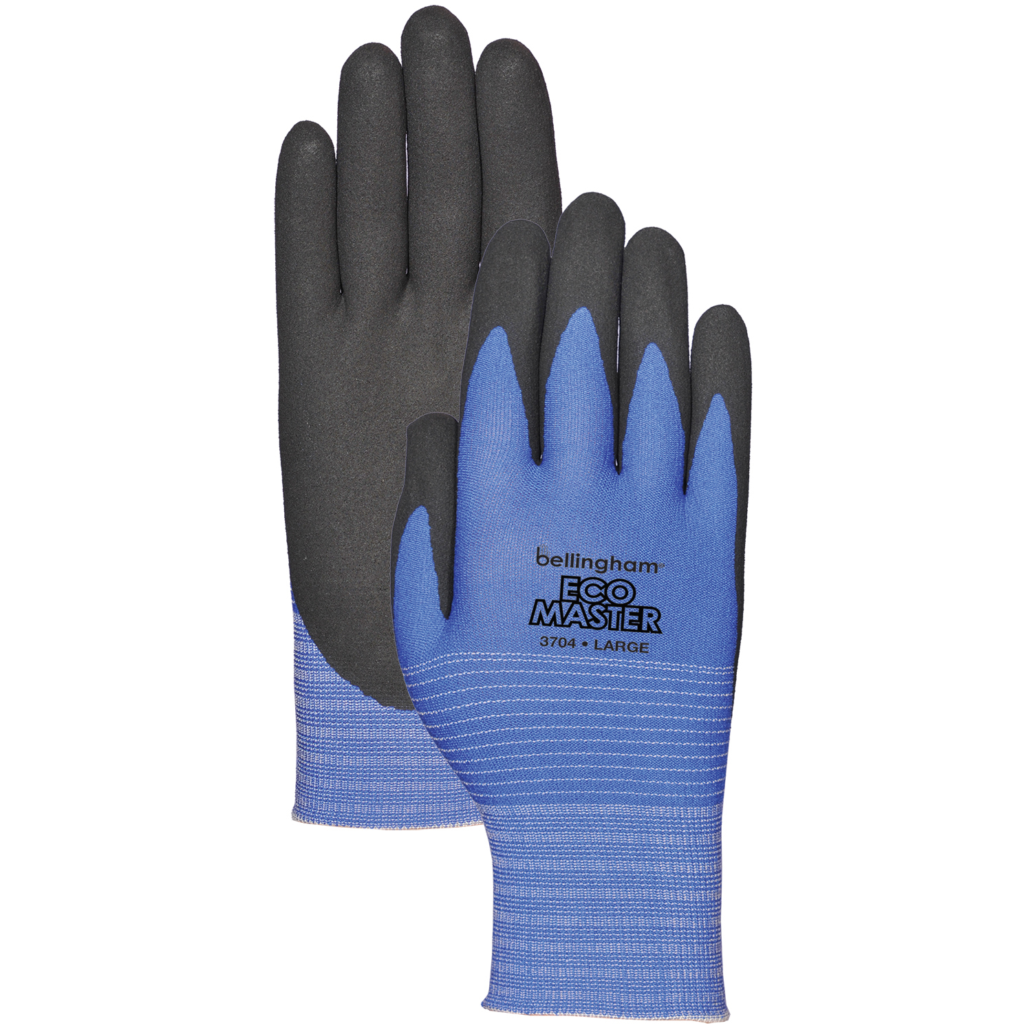 Bellingham Eco Master® Glove with Polymer PU Palm - Blue