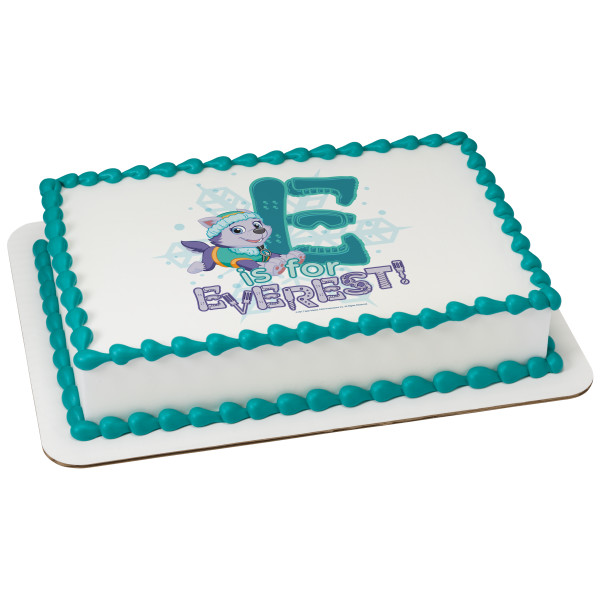 PAW Patrol™ E is for Everest PhotoCake® Edible Image®