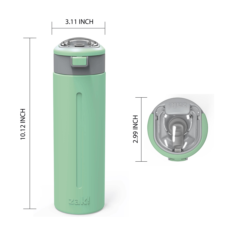 Genesis Vaccum Insulated Stainless Steel Water Bottle, Neo Mint slideshow image 5